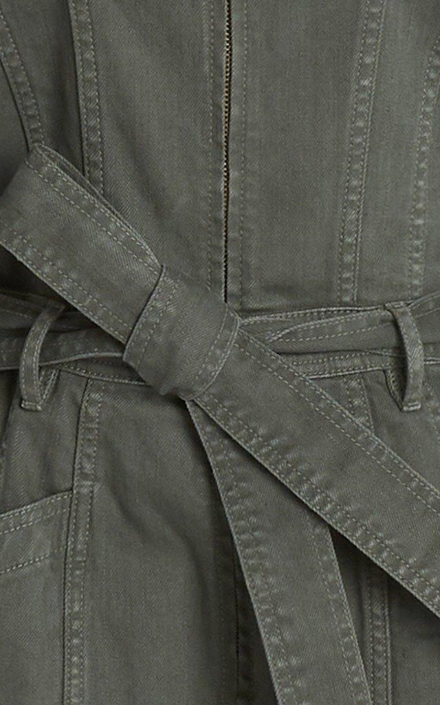 Pascale Printed Cotton Jumpsuit