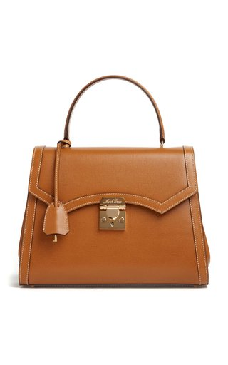 Madeline Lady Leather Top Handle Bag