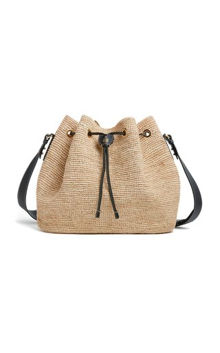 Joni Raffia Shoulder Bag