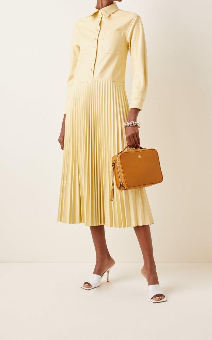 Madison Leather Top Handle Bag