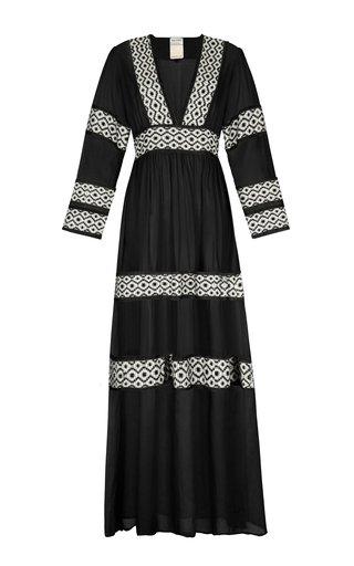 Oli Hand-Embroidered Maxi Dress