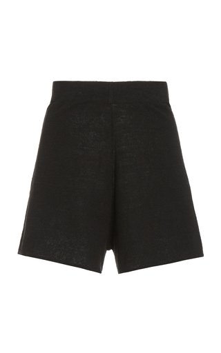 Spencer Knit Linen Shorts