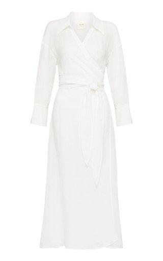 Jan Long Sleeve Midi Dress