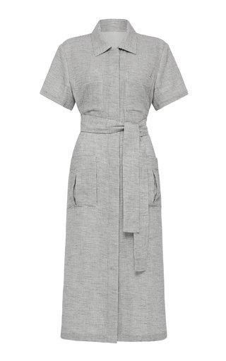 Uma Cotton Midi Shirt Dress