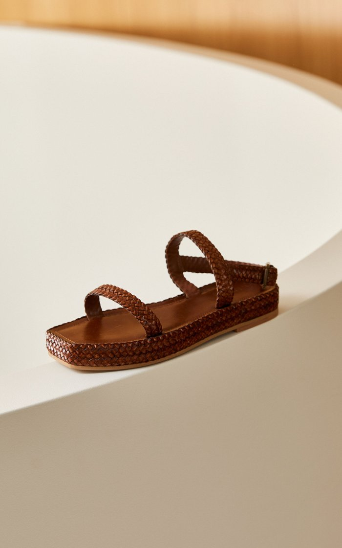 Lori Woven Leather Sandals