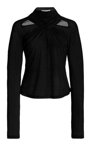 Maia Cutout Jersey-Knit Top