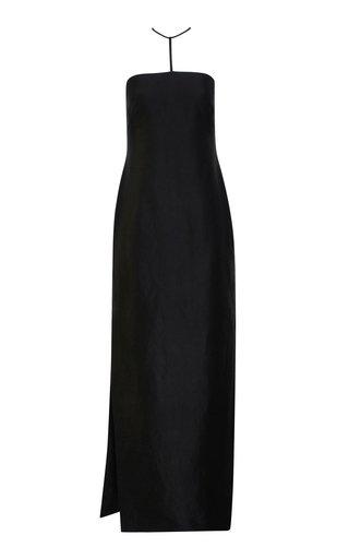 Lou Satin Maxi Dress