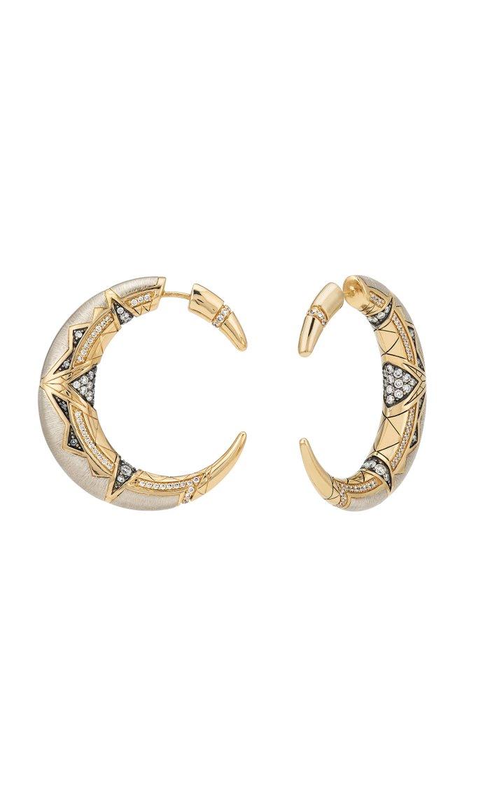 Gold Oryx Earrings