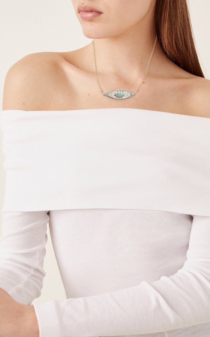 Opal Heka Necklace