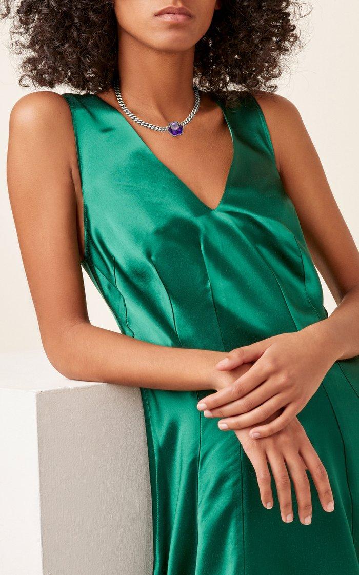 Amethyst Payal Necklace