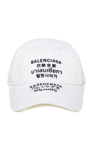 Embroidered Multilingual Baseball Cap