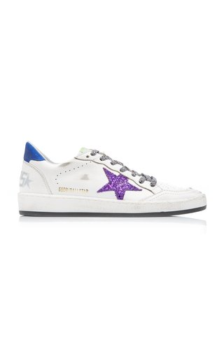 Ballstar Mid-Top Leather Sneakers