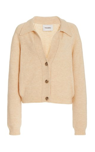 Cade Cropped Knitted Cardigan
