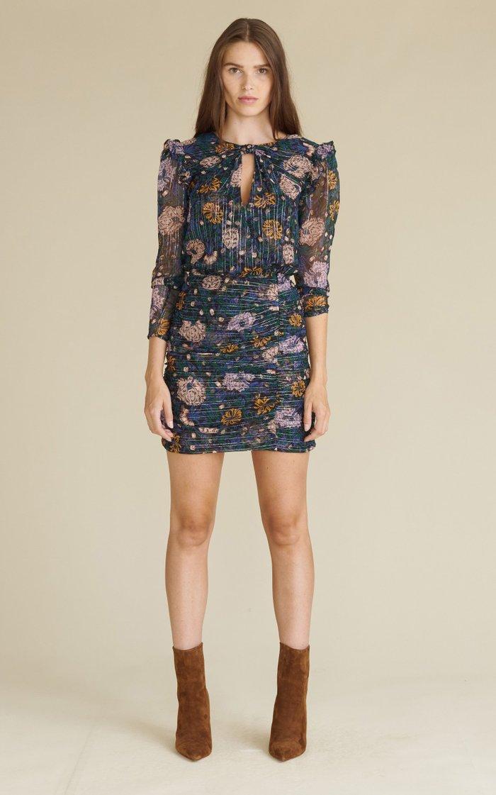 Peppa Ruched Mini Dress