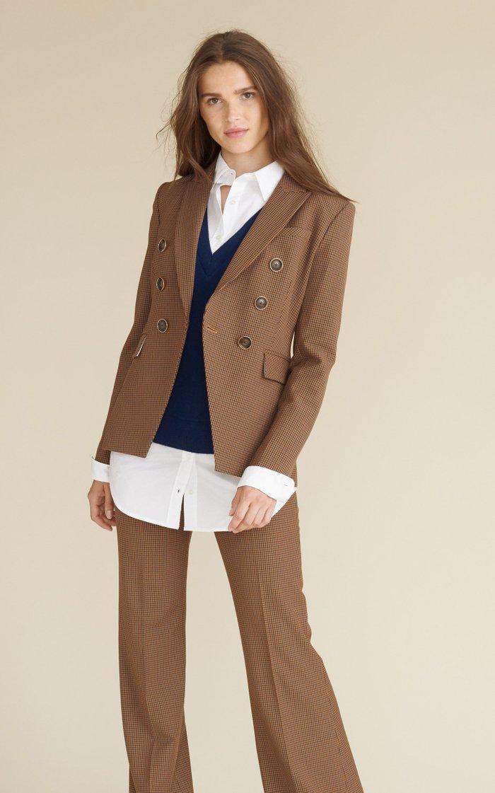 Miller Micro Gingham Dickey Jacket