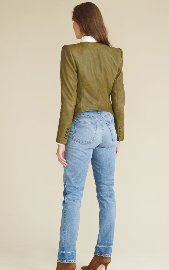 Ryleigh Patched Slim-Straight Leg
