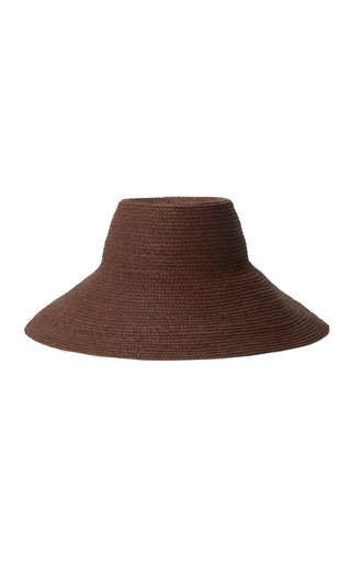 Holland Packable Raffia Hat