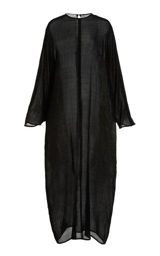 Epoine Wool Maxi Dress