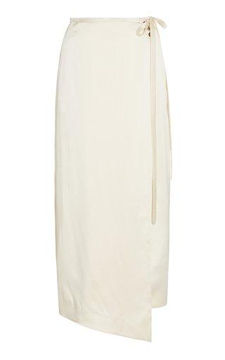 Fiona Silk Wrap Skirt