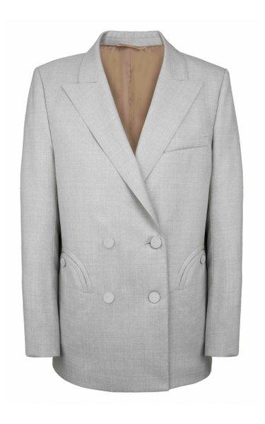 Argyll Everynight Wool Double-Breasted Blazer