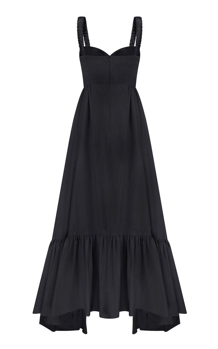 Zefir Bustier Bodice Maxi Dress