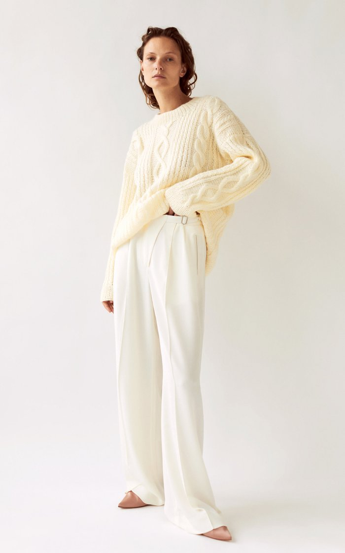Oleh Oversized Cableknit Sweater