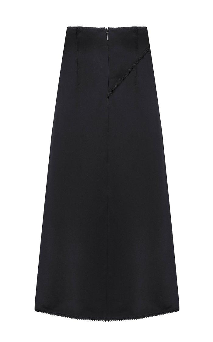 Olga Asymmetric Midi Skirt