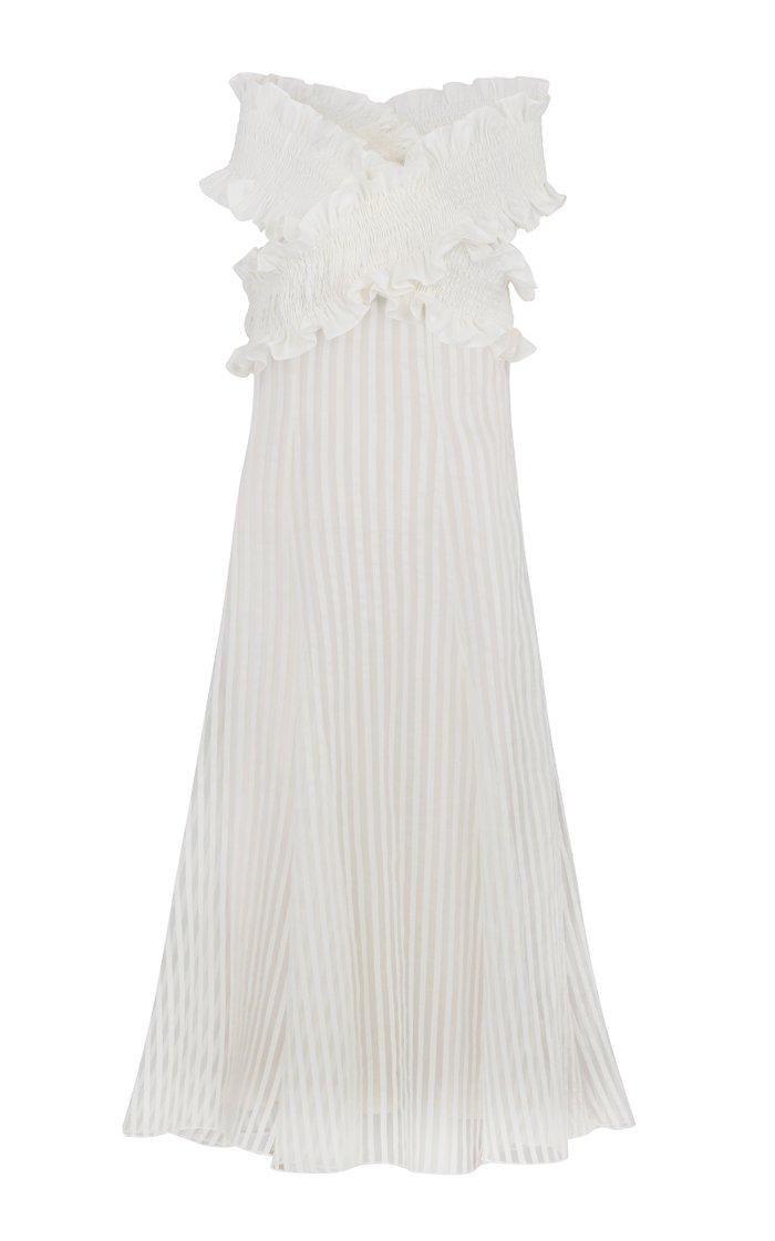 Mimi Off-The-Shoulder Midi Dress