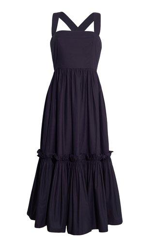 Julia Poplin Midi Dress