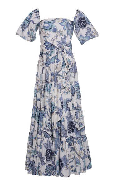 Wethersfield Floral Poplin Maxi Dress