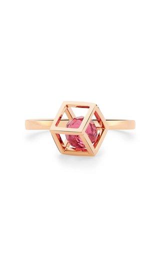 Perpetual Motion Tourmaline 18K Rose Gold Ring
