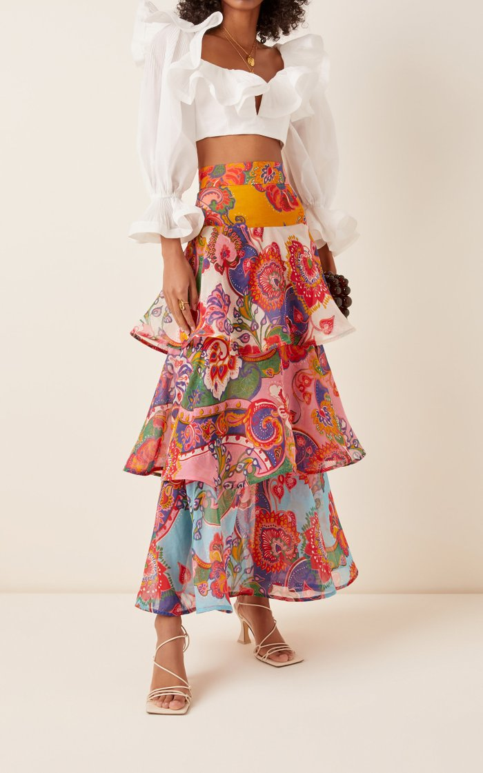 The Lovestruck Flounce Maxi Skirt