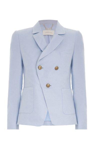 The Lovestruck Linen Tuxedo Jacket