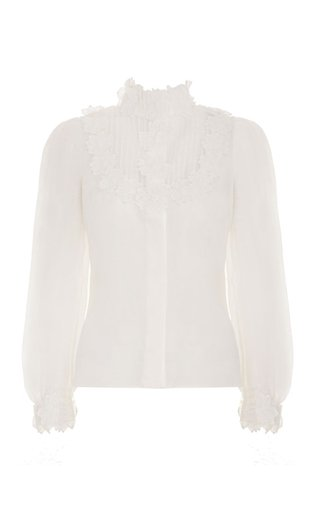 The Lovestruck Ruffled Poplin Shirt