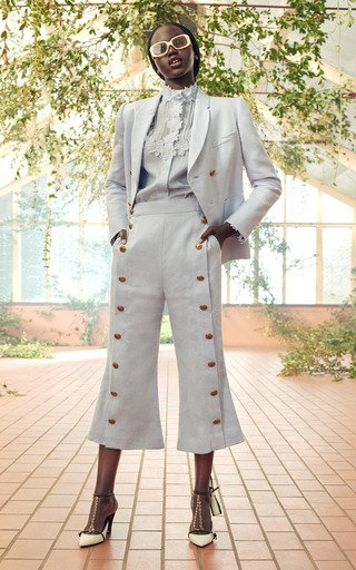 The Lovestruck Linen Tuxedo Pant