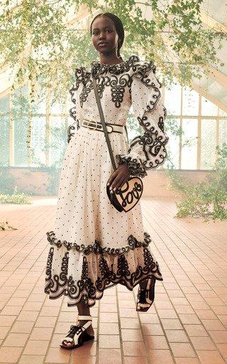 The Lovestruck Rope Silk-Linen Skirt