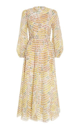 Poppy Broderie Midi Dress