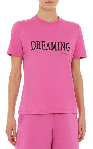 'Dreaming' Cotton Jersey T-Shirt