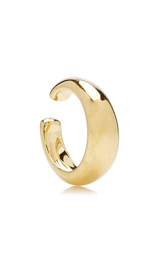 Thick Gold-Plated Ear Cuff