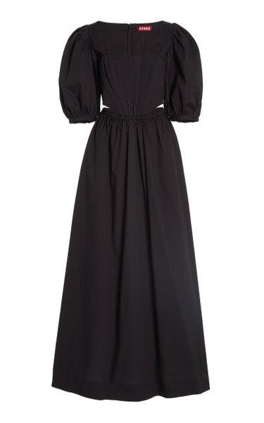 Astro Cotton-Poplin Maxi Dress