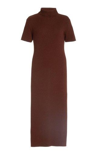 Lilou Merino Wool Knitted Midi Dress