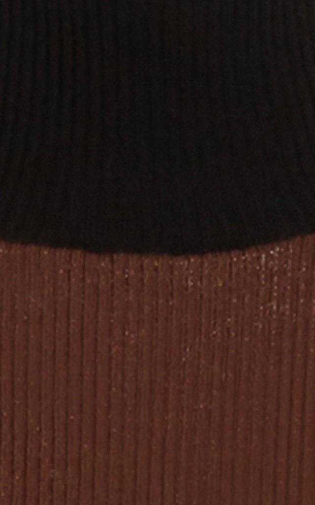 Apres Ribbed-Knit Tunic