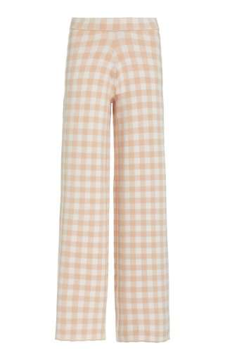 Avalanche Gingham Jacquard Pants