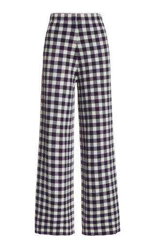Avalanche Gingham Jacquard Pants