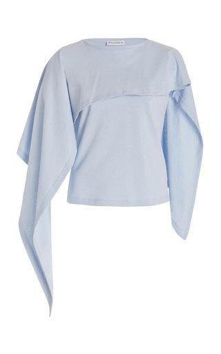 Draped Cotton Top