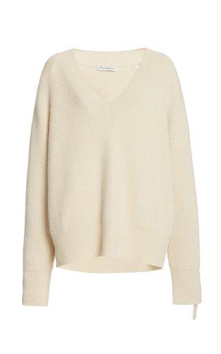 Cable-Knit Alpaca-Yak Sweater