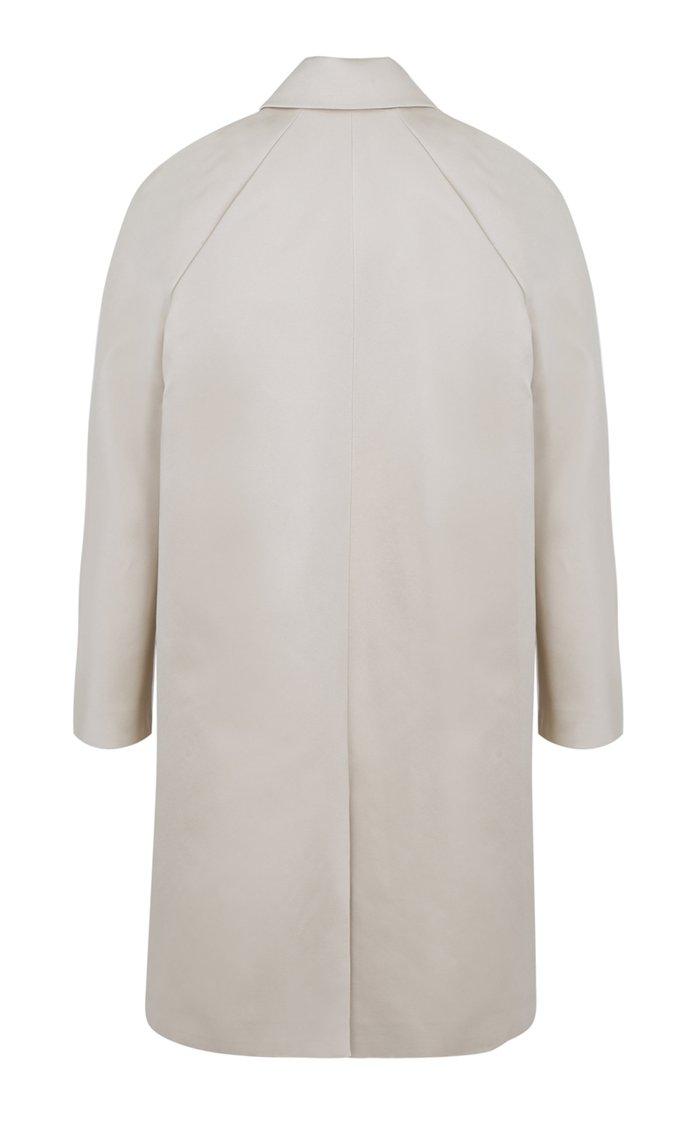 Limited Edition Cotton-Silk Duchess Satin Opera Coat