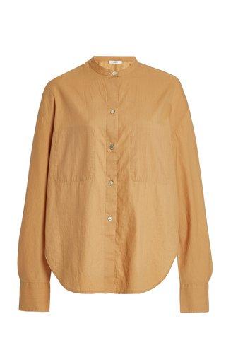 Cotton-Silk Utility Shirt