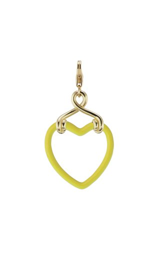 9K Yellow Gold Small Heart Charm