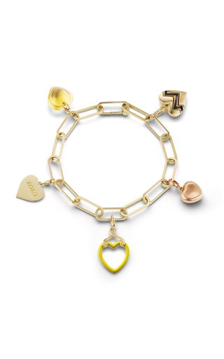 Heart Charms Bracelet